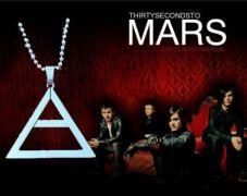 30 Seconds To Mars - náhrdelník Jared Leto (ocel)