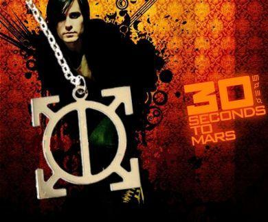 30 Seconds To Mars náhrdelník Orbis Epsilon (ocel)