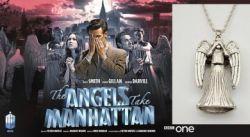 Doctor Who - náhrdelník Plačící Anděl