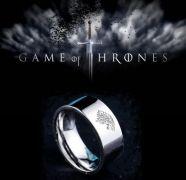 Hra o trůny (Game of Thrones) prsten (ocel)