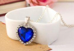 Titanic - náhrdelník Srdce oceánu (malé)