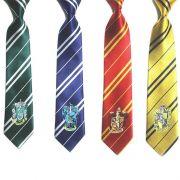 Harry Potter kravata s výšivkou (znak kolejí)