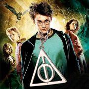 Harry Potter Relikvie smrti náhrdelník otáčecí