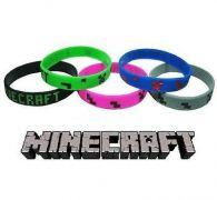 Minecraft silikonový náramek