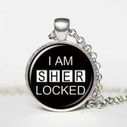 Sherlock Holmes - náhrdelník I am Sherlocked