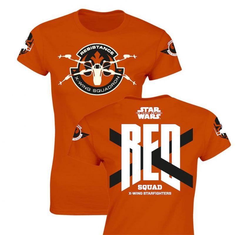 Star Wars dámské tričko RED Squad SD Toys