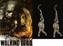 The Walking Dead / Živí mrtví náušnice Zombie