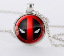 Deadpool náhrdelník Logo