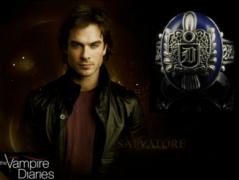 Vampire Diaries (Upíří deníky) - prsten Damon Salvatore 2. jakost