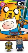 Adventure Time náušnice Jake a Finn