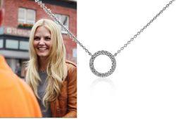 Bylo nebylo (Once Upon a Time) náhrdelník Emma Swan kroužek s kamínky