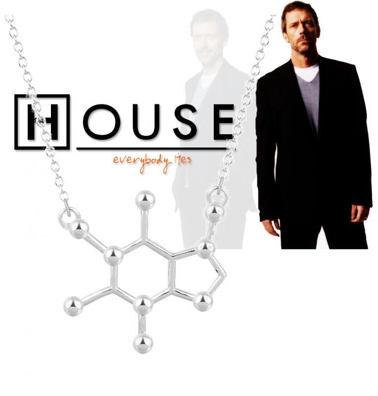 Doktor House - KOFEIN náhrdelník