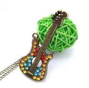 Náhrdelník kytara