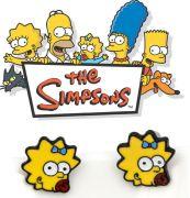 Simpsonovi (The Simpsons) náušnice Maggie