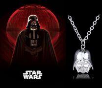 Star Wars náhrdelník Darth Vader stříbrný