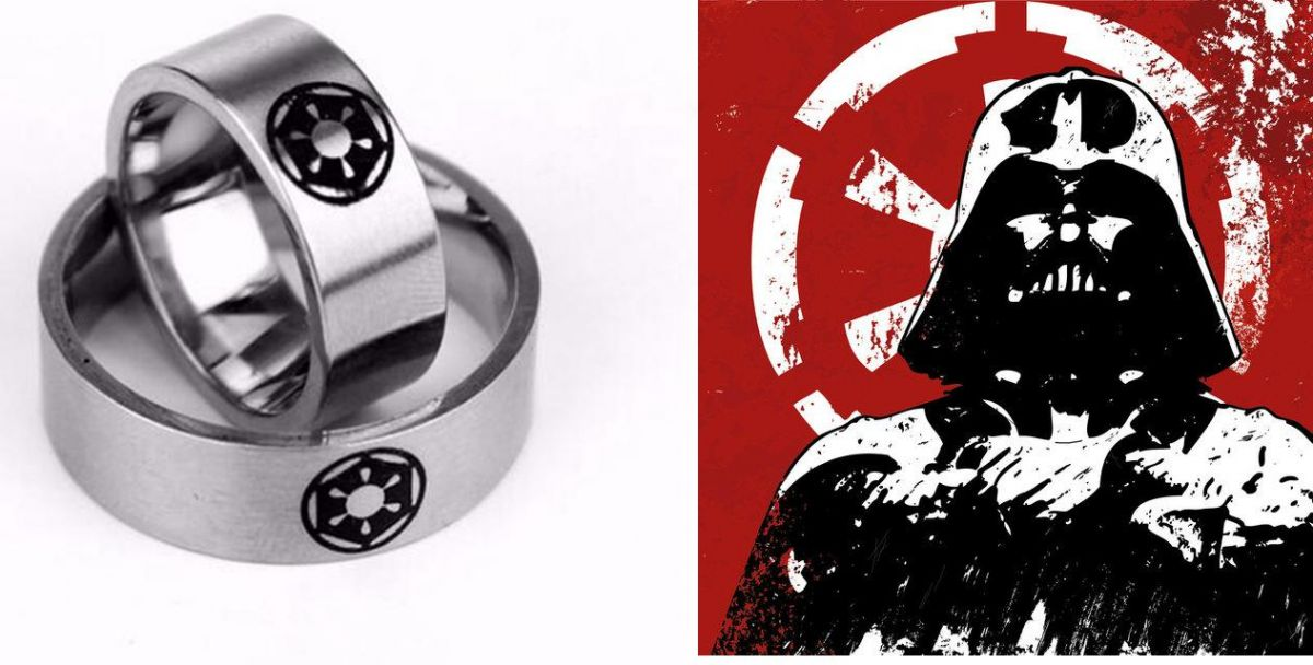 Star Wars prsten Galaktického Impéria