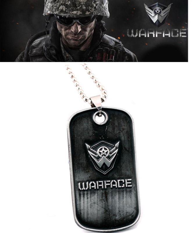 Warface náhrdelník vojenská známka