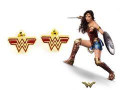 Wonder Woman náušnice