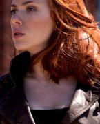 Black Widow (agentka Romanovová) náhrdelník - ocel