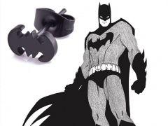Batman - naušnice Logo (ocel) puzetka