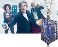 Doctor Who - Tardis náhrdelník It´s bigger on The inside