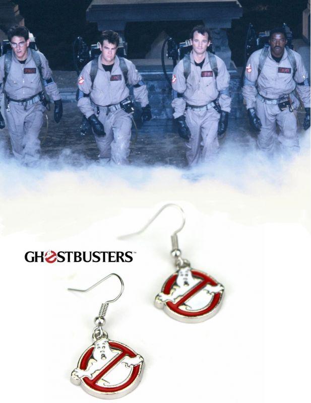 Ghostbusters (Krotitelé duchů) náušnice Logo