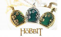 Hobit (The Hobbit) náhrdelník dveře Bilba Pytlíka - otevírací medailonek