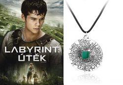Labyrint: Útěk (The Maze Runner) náhrdelník labyrinth