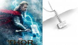 Marvel: Thor -  náhrdelník Thorovo kladivo (Mjolnir)