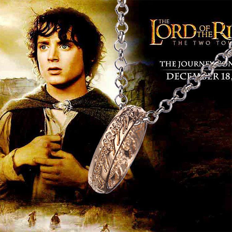 Pán prstenů (Lord of the Rings) - Prsten moci na řetízku Meirenpeizi