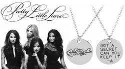 Pretty Little Liars (Prolhané krásky) náhrdelník