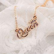 Sex ve městě (Sex and The City) náhrdelník podle Carrie - Queen