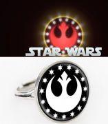 Star Wars prsten New Republic logo