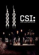 CSI náušnice DNA visací
