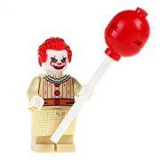 Horror Blocks Bricks Lego figurka Pennywise (To / It)