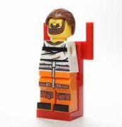 Mlčení jehńátek Blocks Bricks Lego figurka Hannibal Lecter