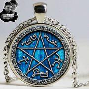 Supernatural (Lovci duchů) náhrdelník Devils Trap