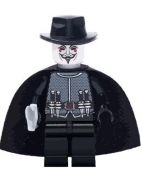 V for Vendetta Blocks Bricks Lego figurka Guy Fawkes