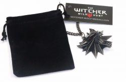 Zaklínač 3 (The Witcher): Divoký hon Geraltův medailon replika J!NX