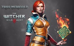 Zaklínač 3 (The Witcher): Divoký hon medailon Triss Merigold