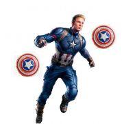 Kapitán Amerika náušnice Štít