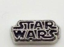 Star Wars plovoucí ozdůbka do okénkového medailonku: Logo