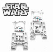 Star Wars náušnice R2D2 visací