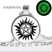 Supernatural (Lovci duchů) náhrdelník svítící ve tmě