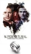Supernatural (Lovci duchů) - Prsten Dean Winchester (ocel)