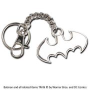 Batman - kovová klíčenka Logo