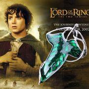Pán prstenů (Lord of the Rings) brož Společenstva: List Marlonu