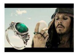 Piráti z Karibiku (Pirates of the Caribbean) prsten Jack Sparrow