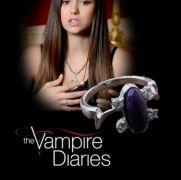 Vampire Diaries (Upíří deníky) - Elenin prsten (bižu)