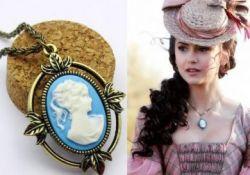 Vampire Diaries (Upíří deníky) - náhrdelník Katherine - Kamej